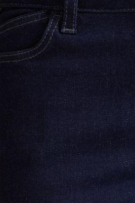 Shaping jeans in dark denim, BLUE RINSE, detail