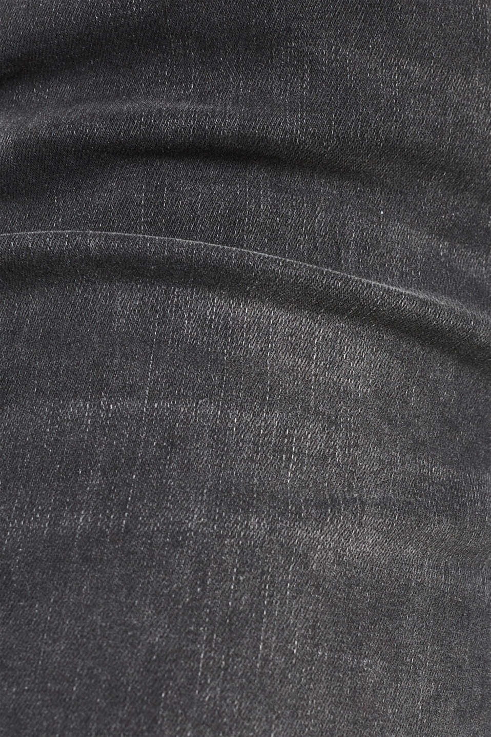 REPREVE stretch jeans with recycled polyester, GREY MEDIUM WASH, detail image number 4