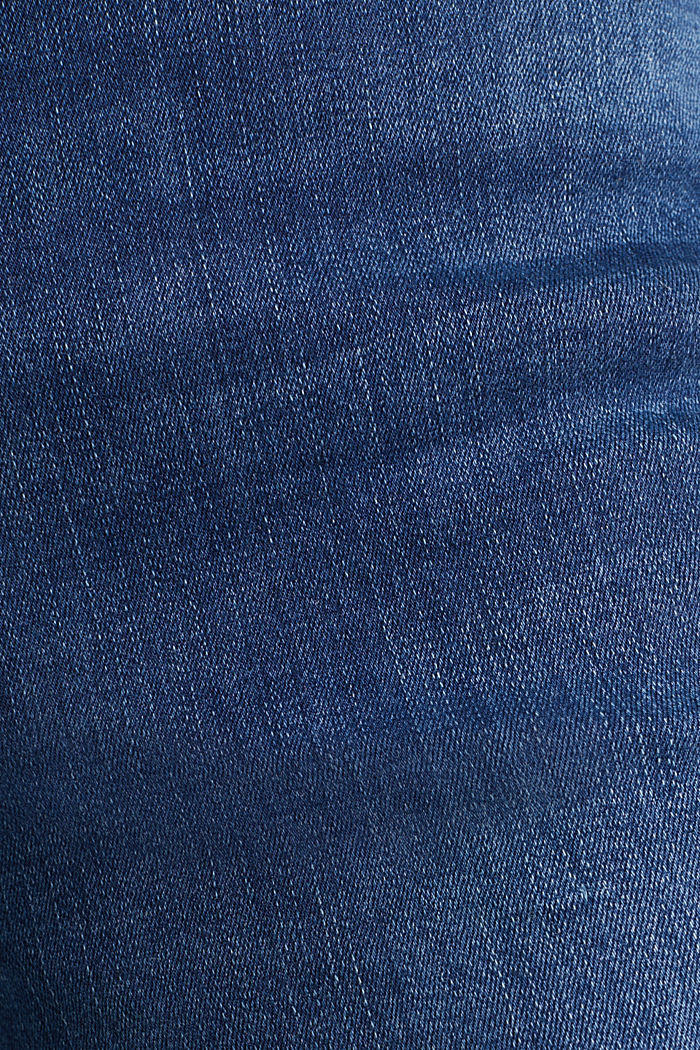 REPREVE stretch jeans with recycled polyester, BLUE MEDIUM WASHED, detail image number 3