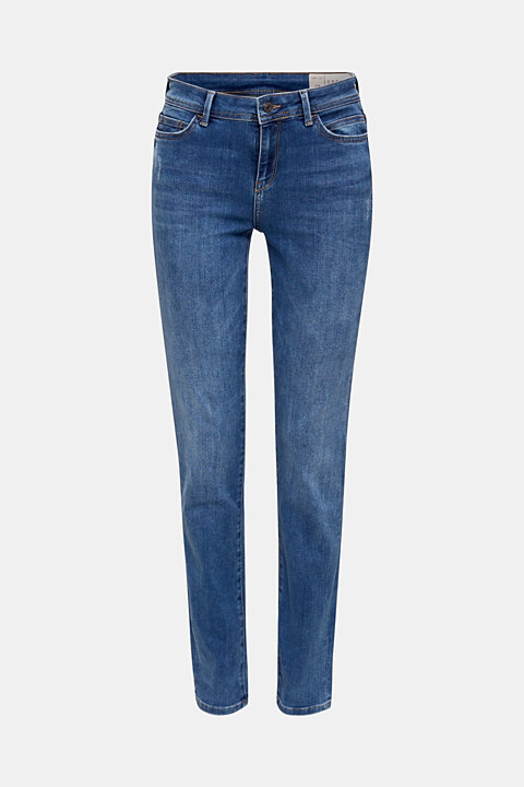 REPREVE stretch jeans with recycled polyester