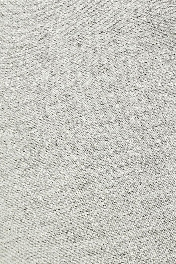 Chino aus kompaktem Jersey-Stretch, LIGHT GREY, detail image number 4