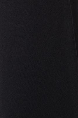 Culottes made of fine melange punto jersey