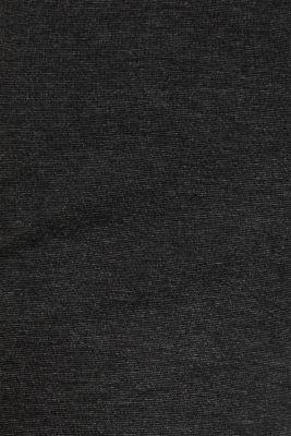 Culottes made of fine melange punto jersey, DARK GREY, detail