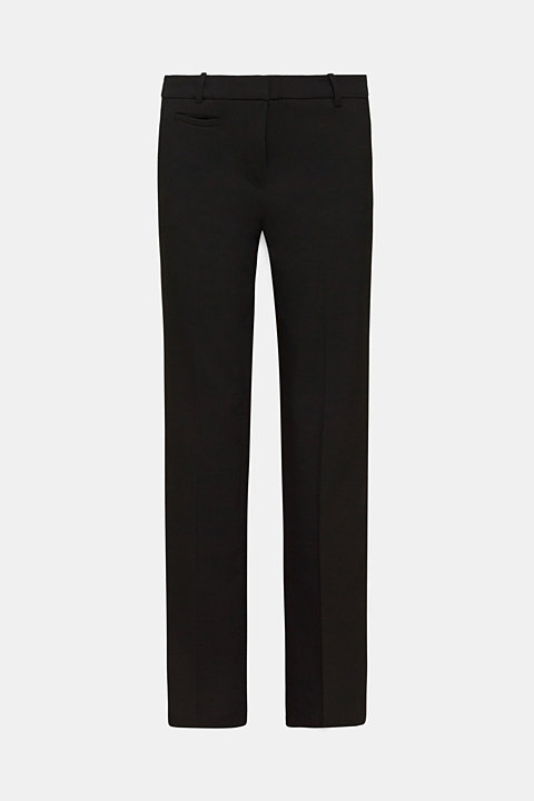 Business trousers with stretch for comfort