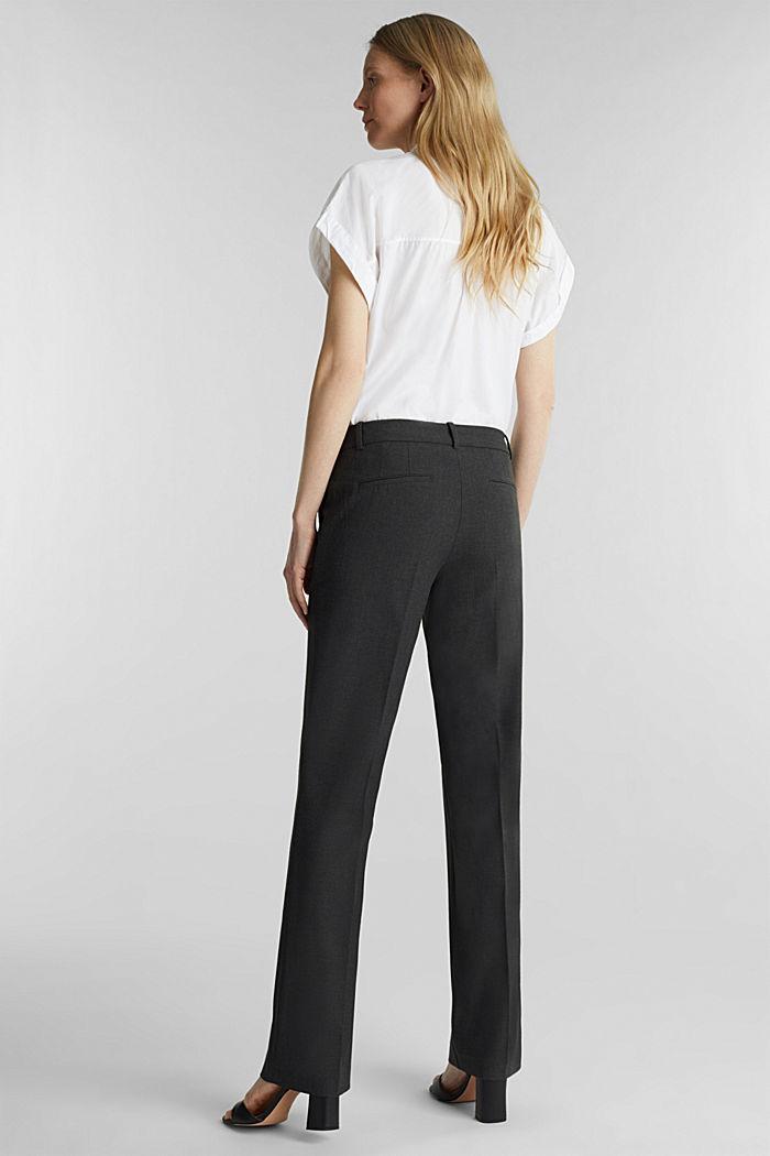 Pantaloni business con confortevole stretch, DARK GREY, detail image number 2