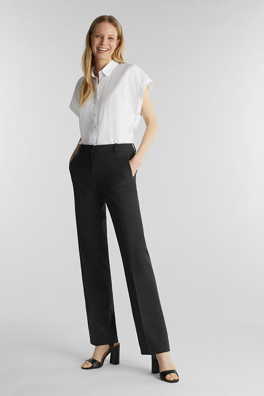 Pantalon business au confort stretch