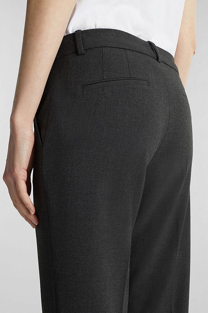 Pantaloni business con confortevole stretch, DARK GREY, detail image number 4