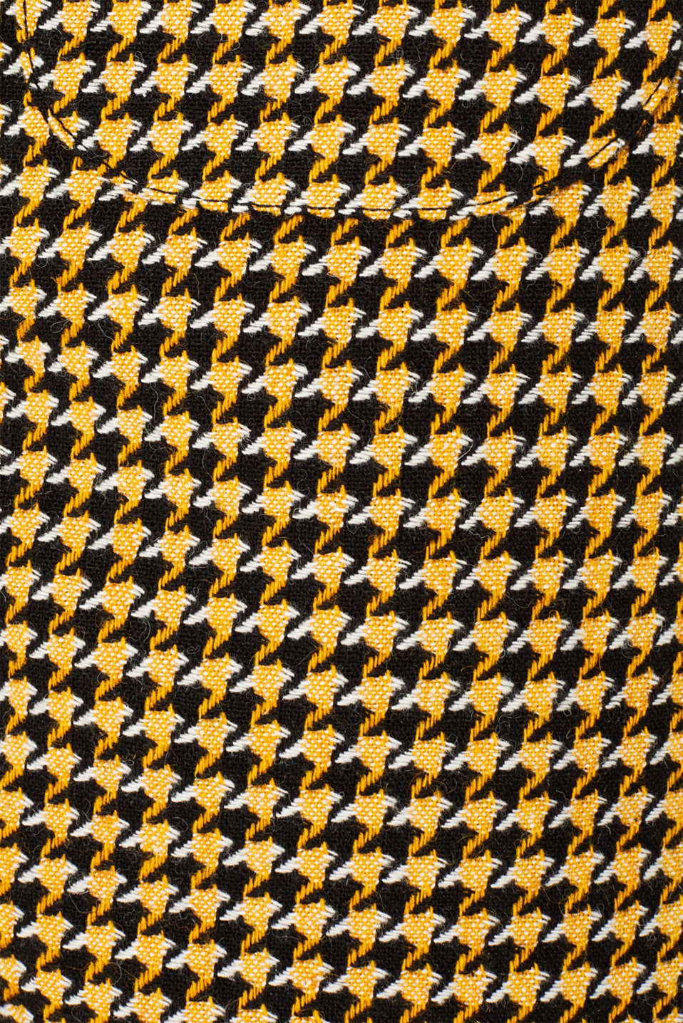 Wool blend: Skirt with a button placket, YELLOW, detail image number 4