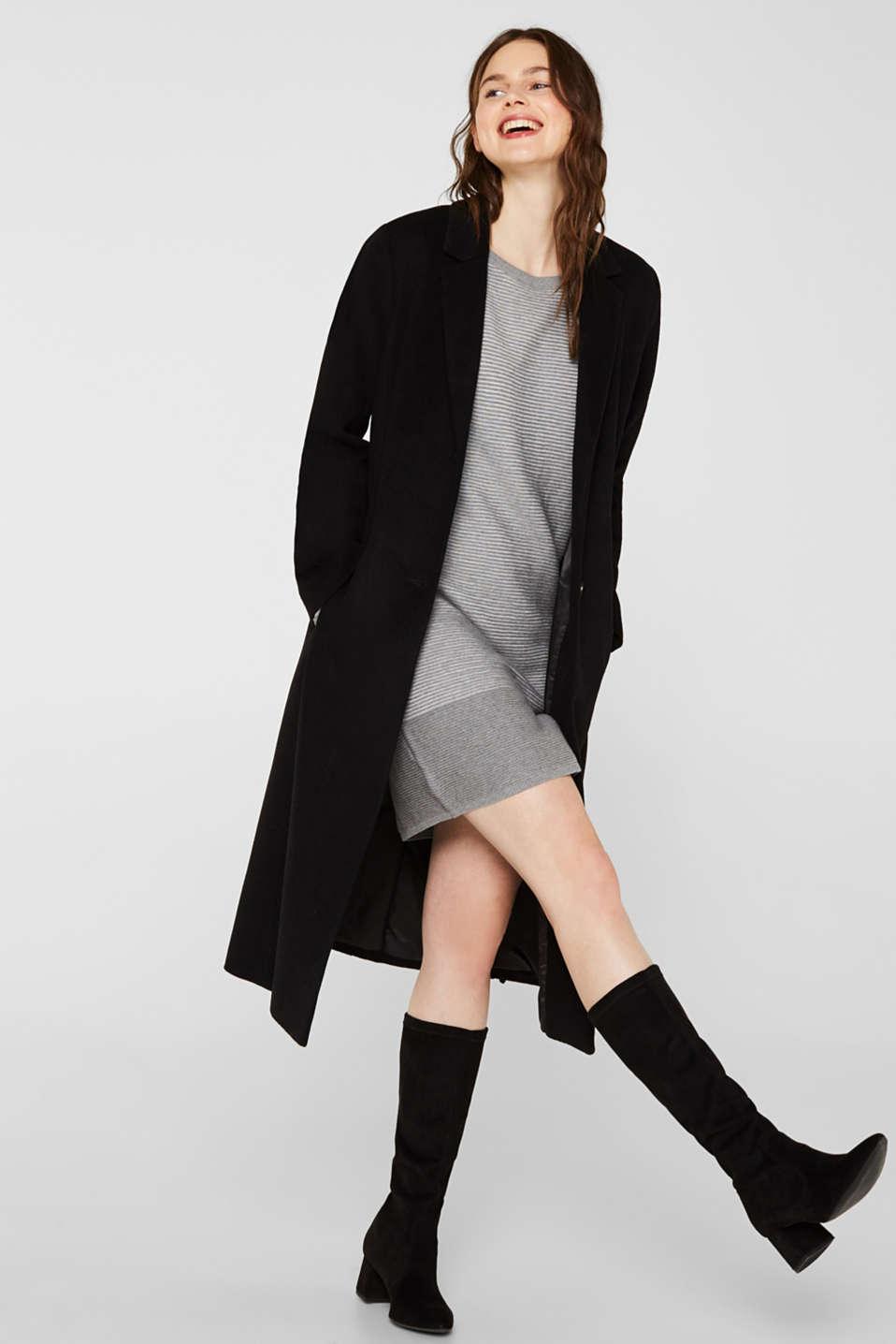 Dresses flat knitted, MEDIUM GREY 5, detail image number 1