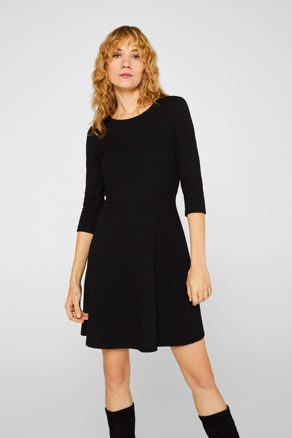 Esprit - Stretchy, textured dress