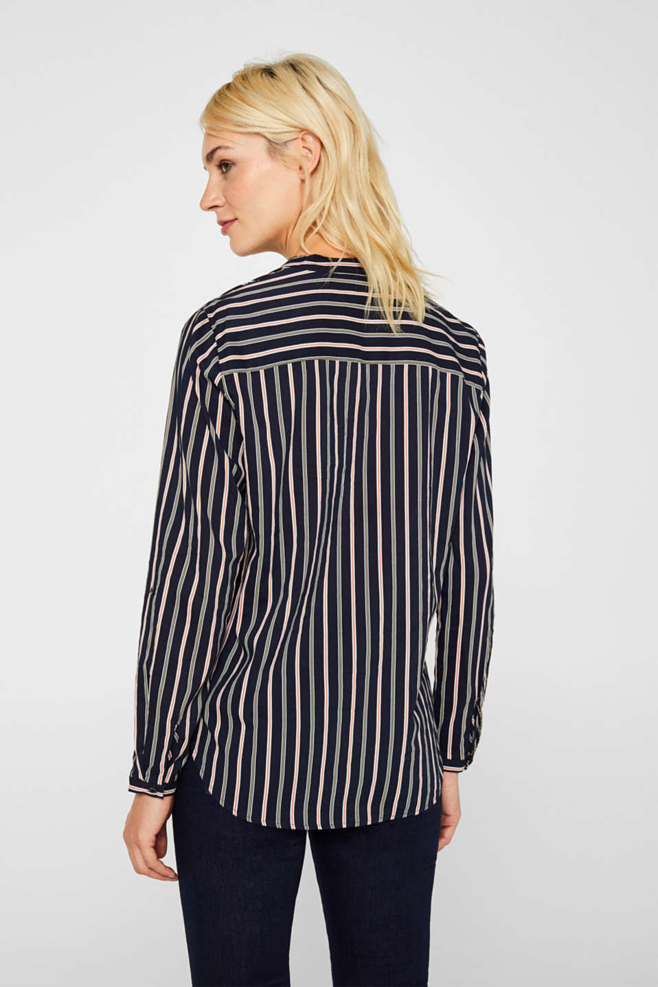 Blouses woven, NAVY, detail image number 3