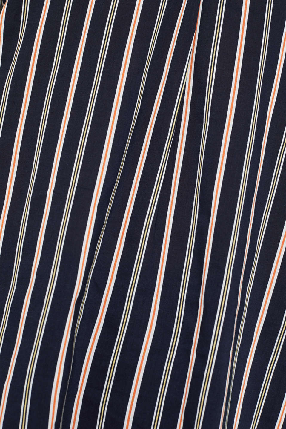 Slip-on blouse with stripes, NAVY, detail image number 4