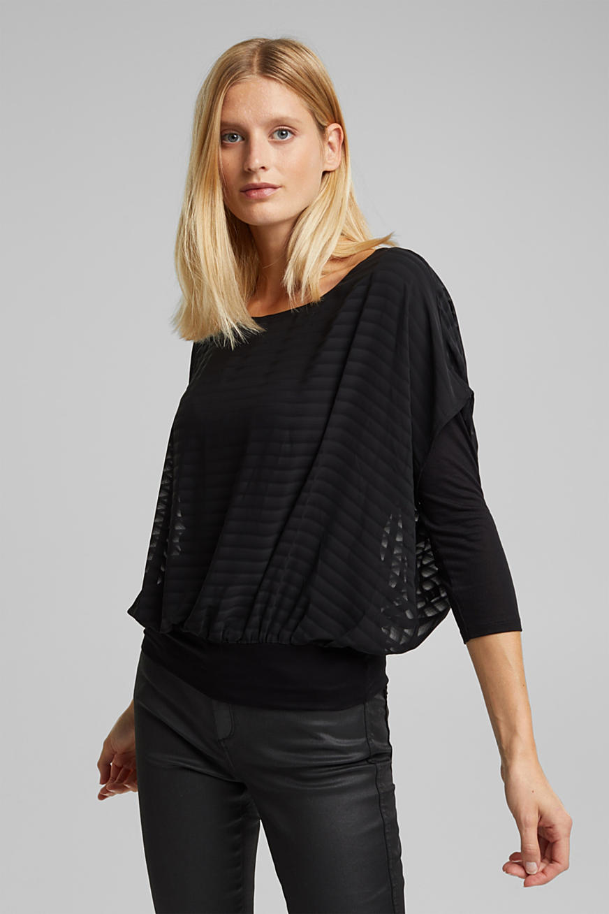 Blouse in laagjeslook