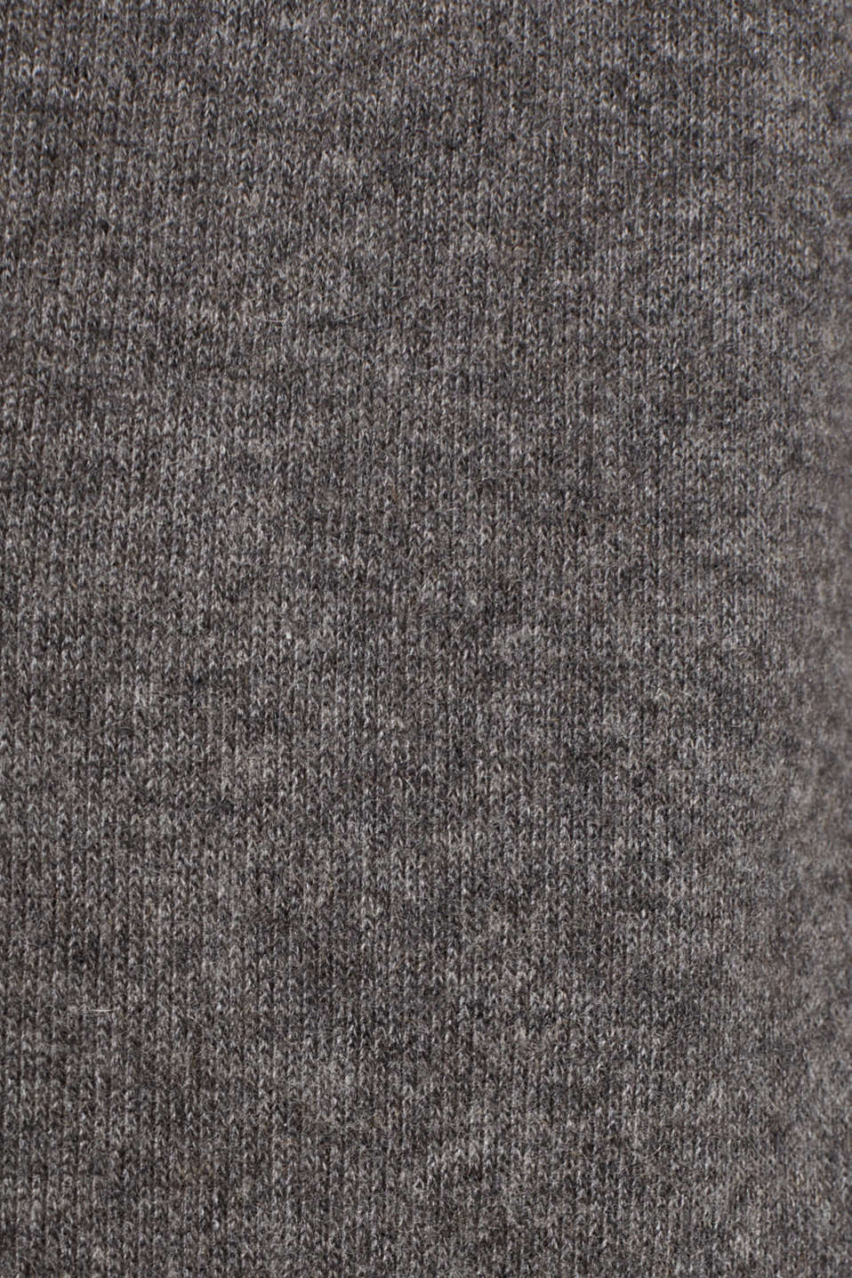 Made of blended wool: Coat in a knit look, DARK GREY 5, detail image number 4
