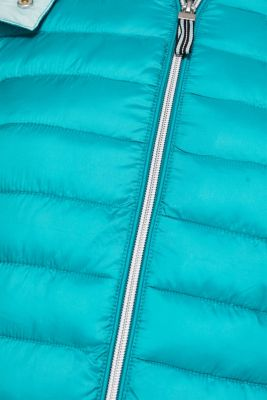 Quilted jacket with 3M™ Thinsulate™ padding, TEAL GREEN, detail