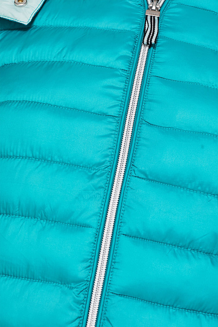 Quilted jacket with 3M™ Thinsulate™ padding, TEAL GREEN, detail image number 4