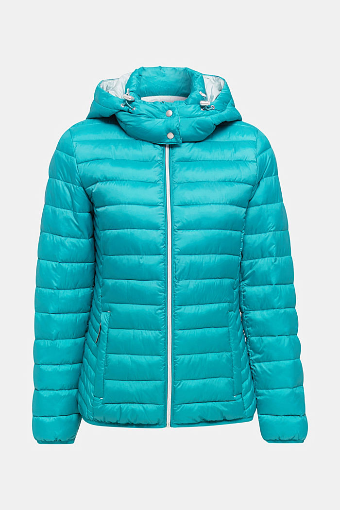 Quilted jacket with 3M™ Thinsulate™ padding, TEAL GREEN, detail image number 7