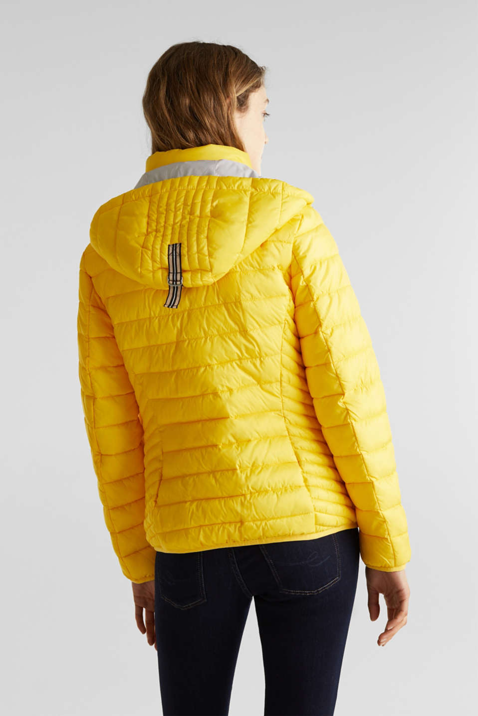 Jackets outdoor woven, YELLOW, detail image number 3