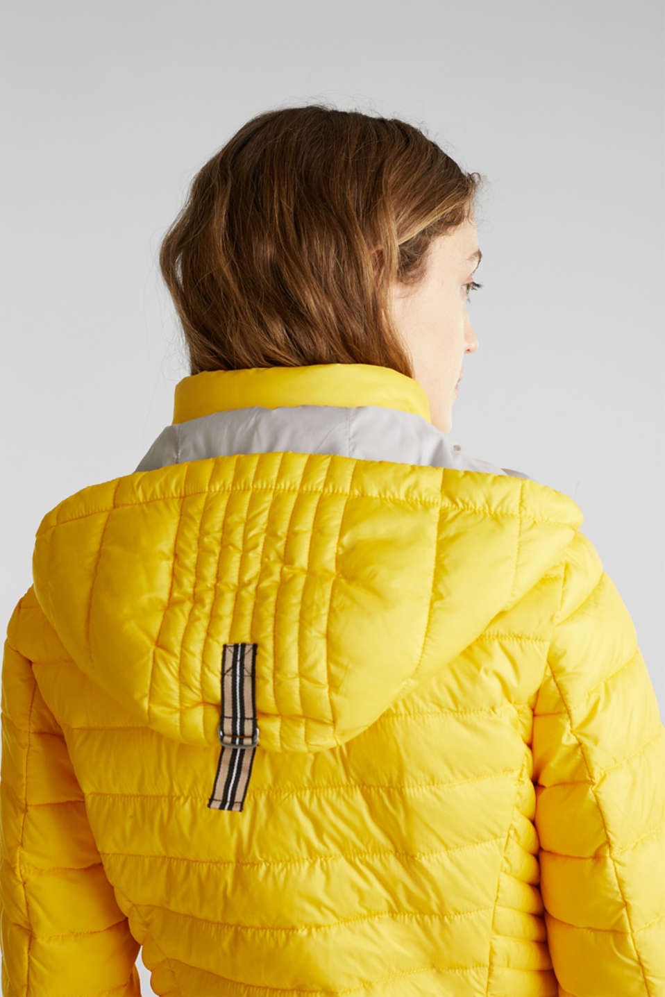 Quilted jacket with 3M™ Thinsulate™ padding, YELLOW, detail image number 5