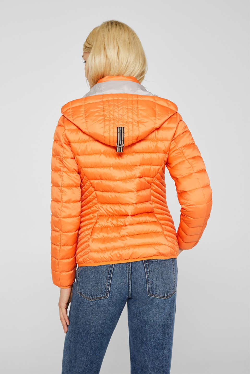 Quilted jacket with 3M™ Thinsulate™ padding, RUST ORANGE, detail image number 3