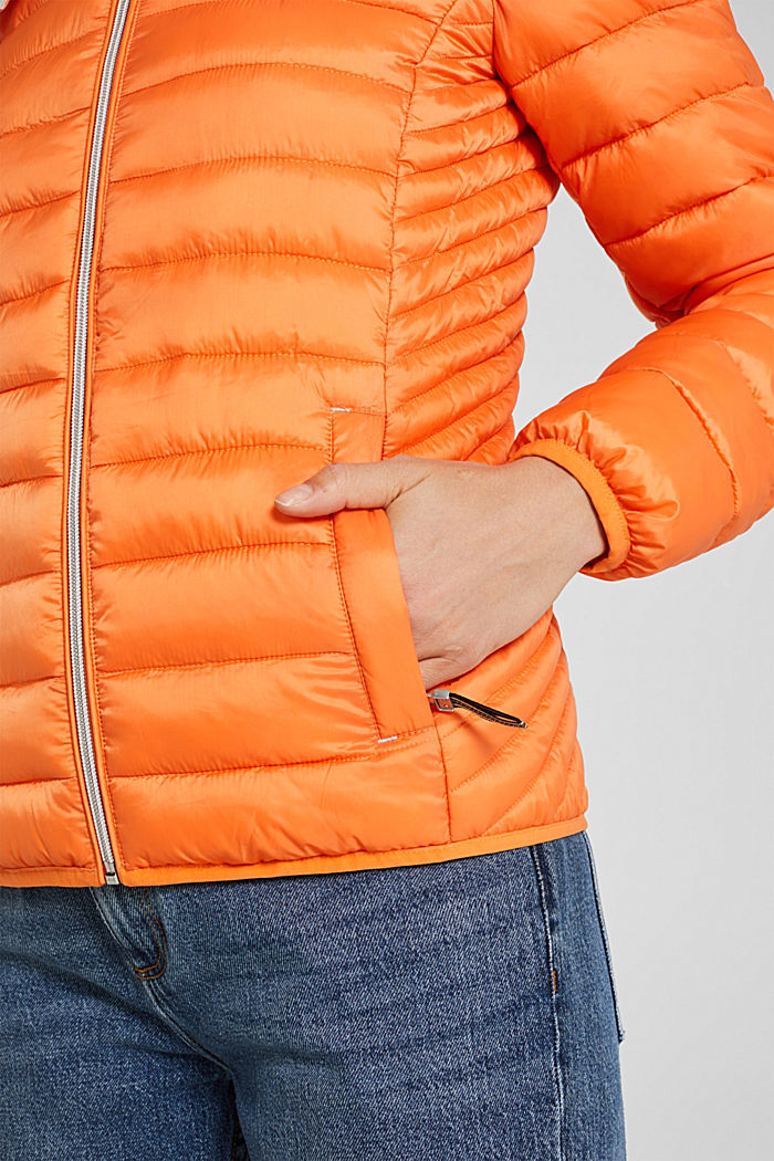 Quilted jacket with 3M™ Thinsulate™ padding, RUST ORANGE, detail image number 5