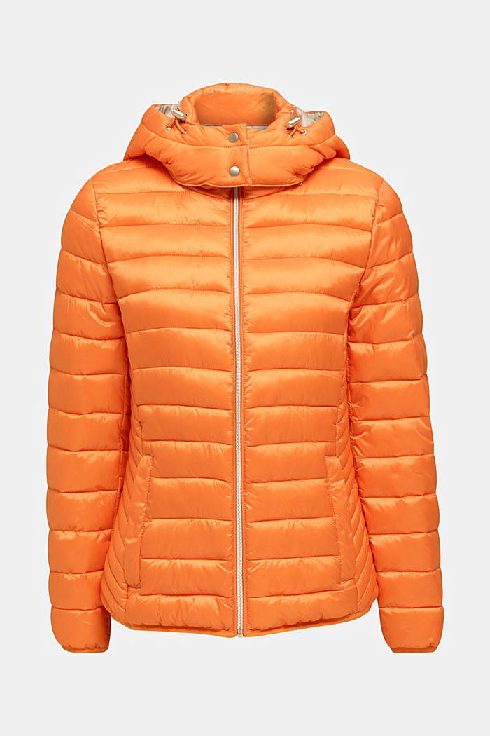 Quilted jacket with 3M™ Thinsulate™ padding, RUST ORANGE, detail image number 7