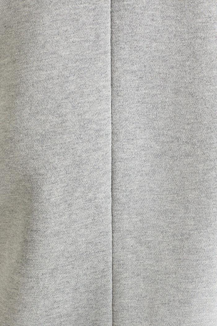 Blazer coat made of jersey, LIGHT GREY, detail image number 4