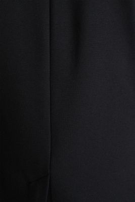 Stretch jersey blazer with pockets, BLACK, detail
