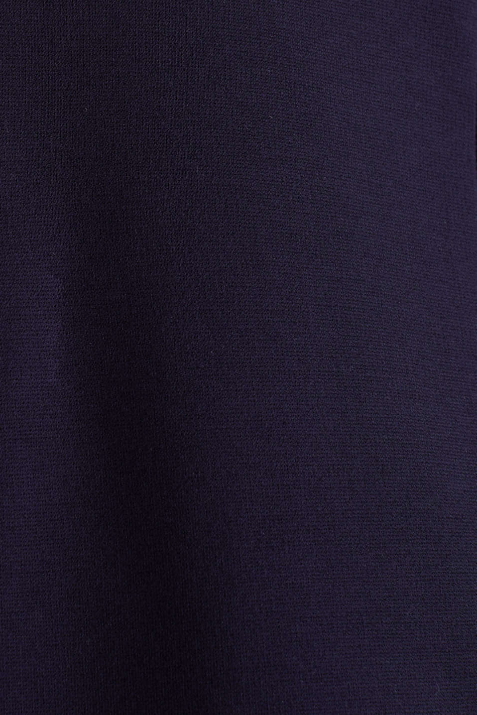 Stretch jersey blazer with pockets, NAVY, detail image number 1
