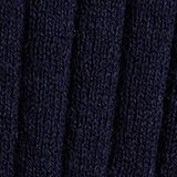 With silk: ribbed jumper with buttons, NAVY, swatch
