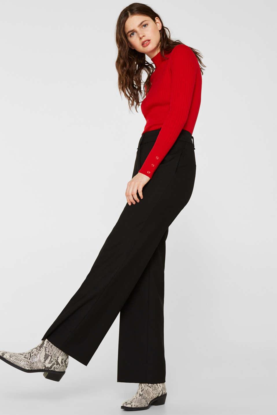 Sweaters, DARK RED, detail image number 5