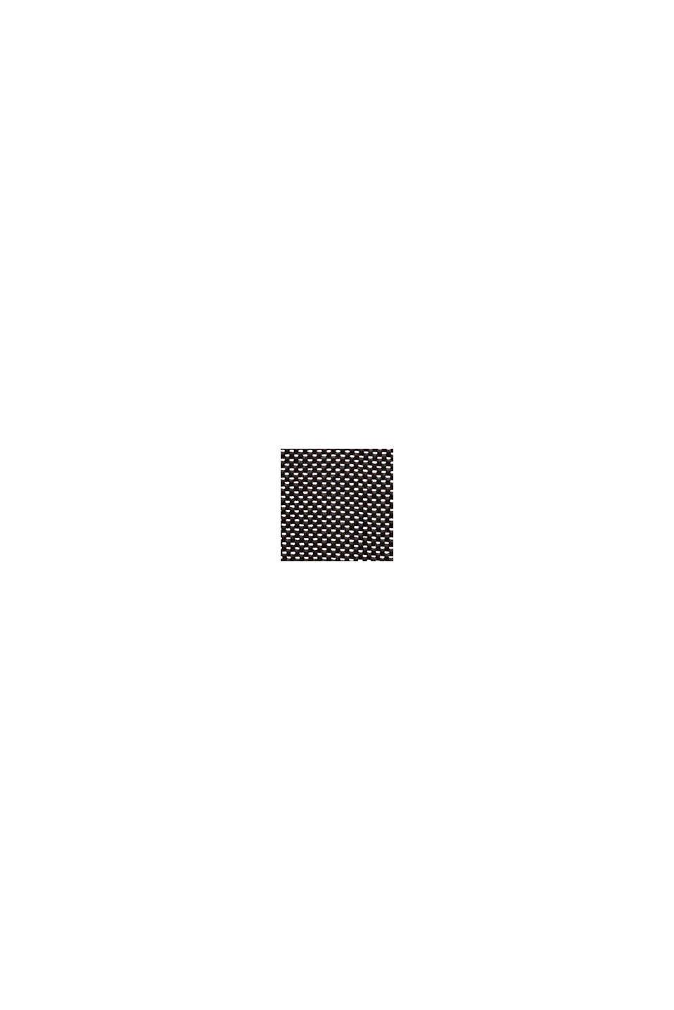 Struktur-Pullover aus Baumwoll-Mix, BLACK, swatch
