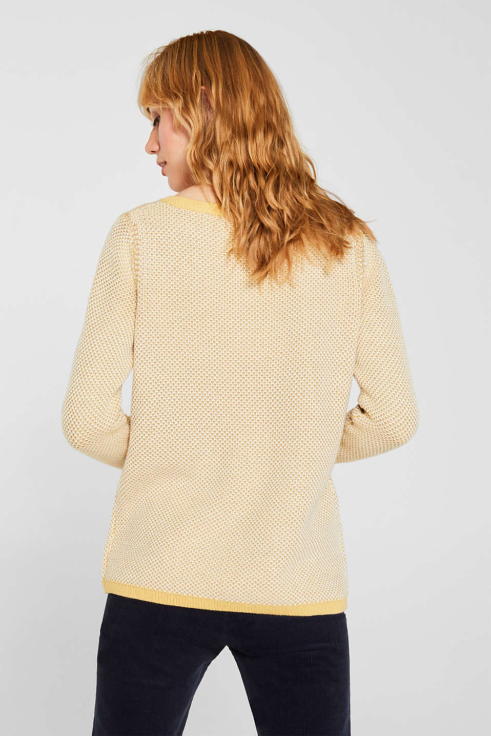 Sweaters, YELLOW 2, detail image number 3
