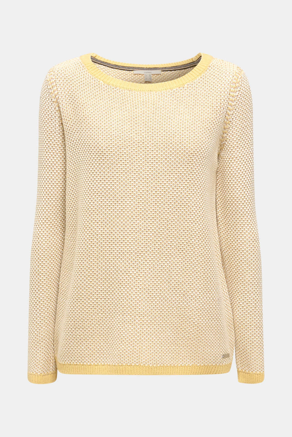 Sweaters, YELLOW 2, detail image number 5