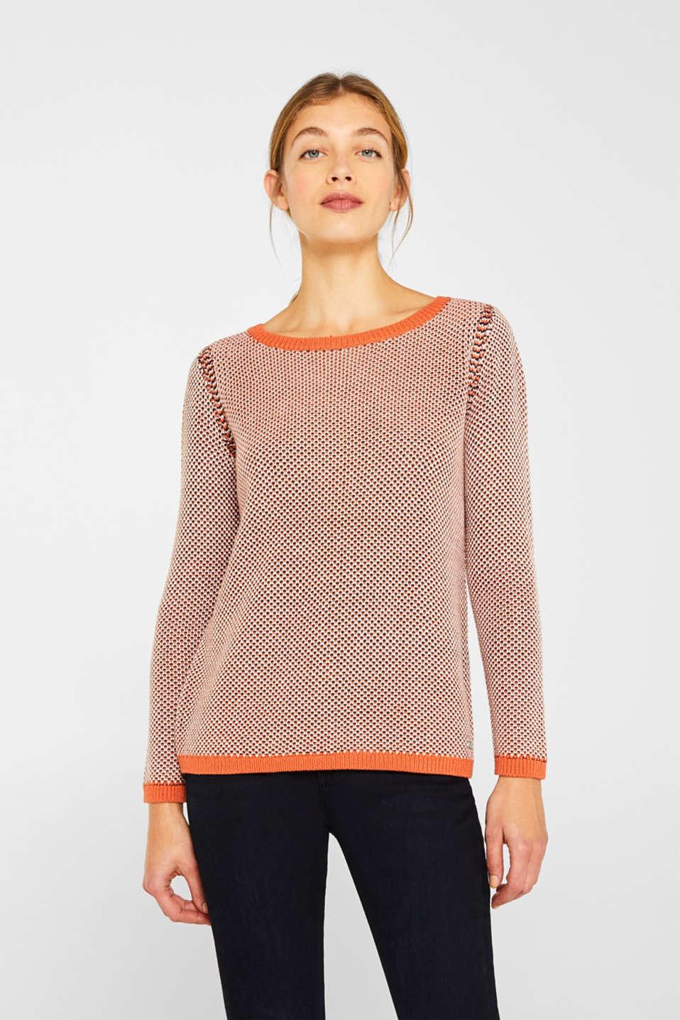 Sweaters, BURNT ORANGE 2, detail image number 0