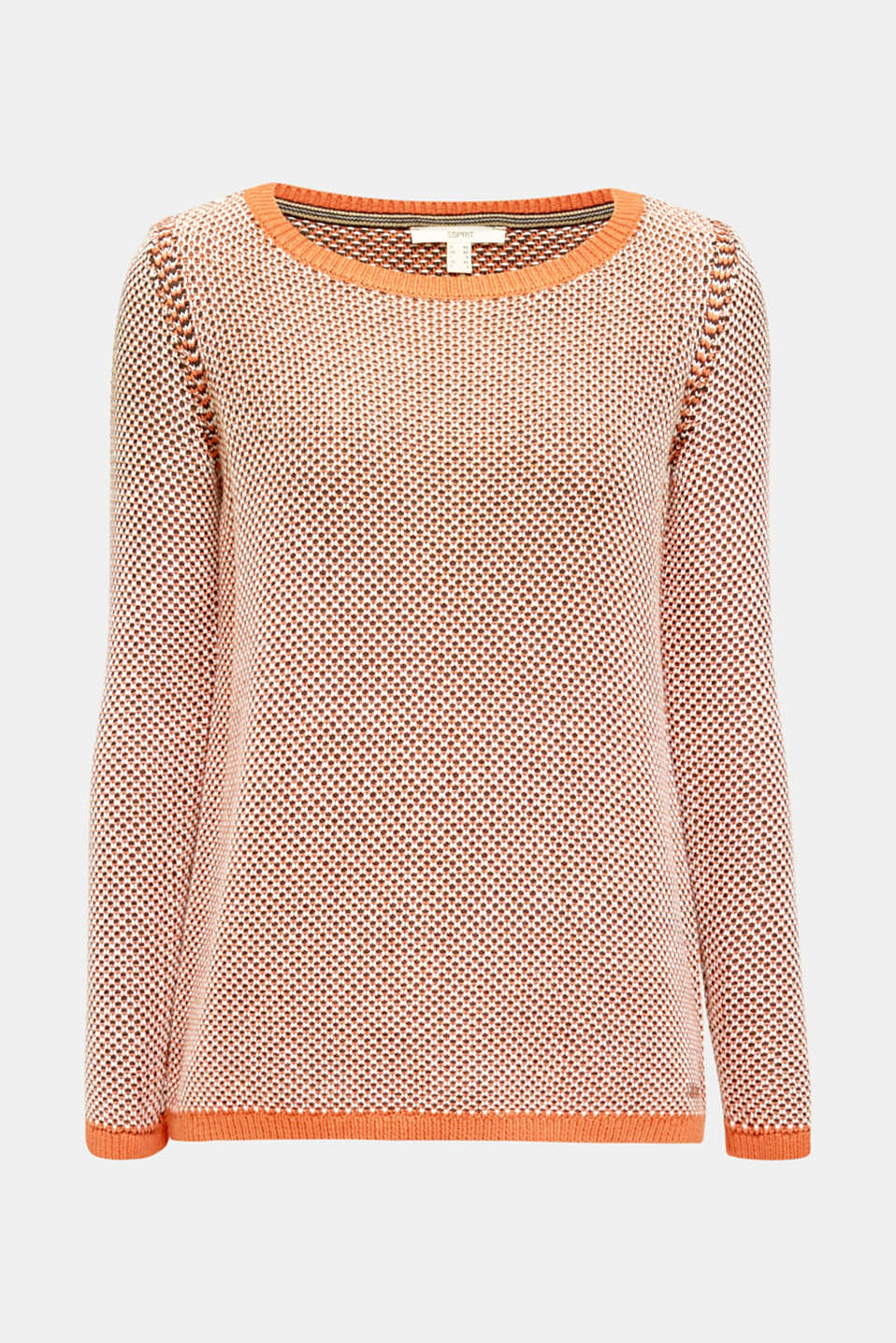 Sweaters, BURNT ORANGE 2, detail image number 5