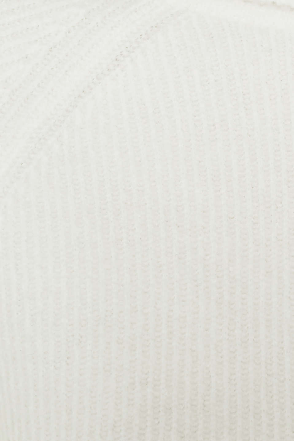 Polo neck jumper with racing stripes and wool, OFF WHITE 2, detail image number 4
