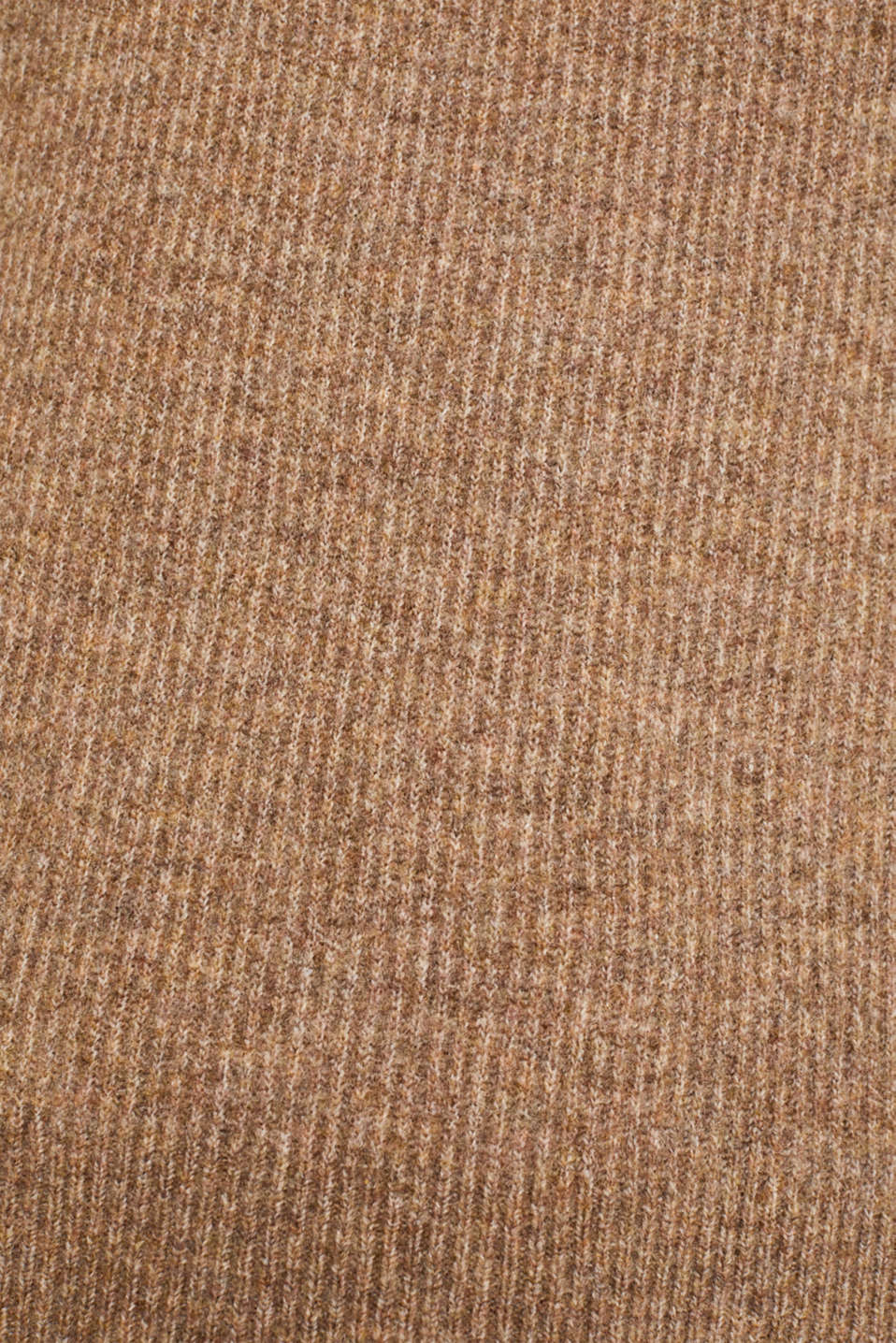 Polo neck jumper with racing stripes and wool, CAMEL 4, detail image number 4