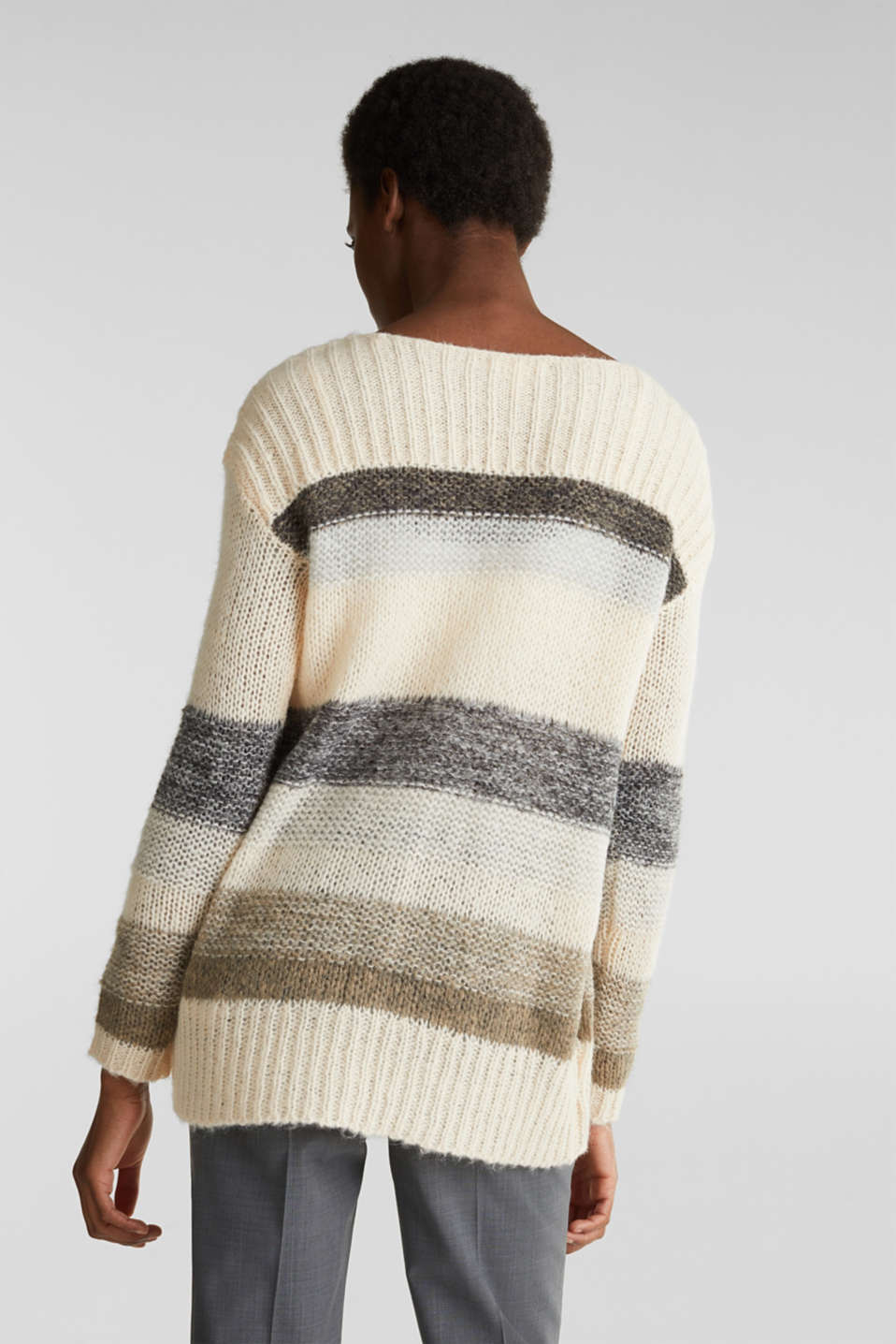 Sweaters, BEIGE 2, detail image number 3