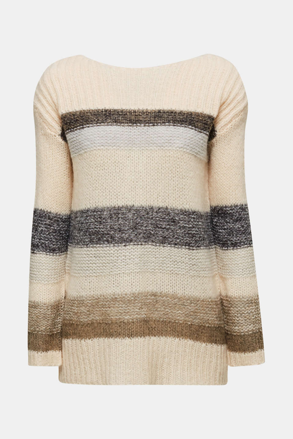 Sweaters, BEIGE 2, detail image number 6