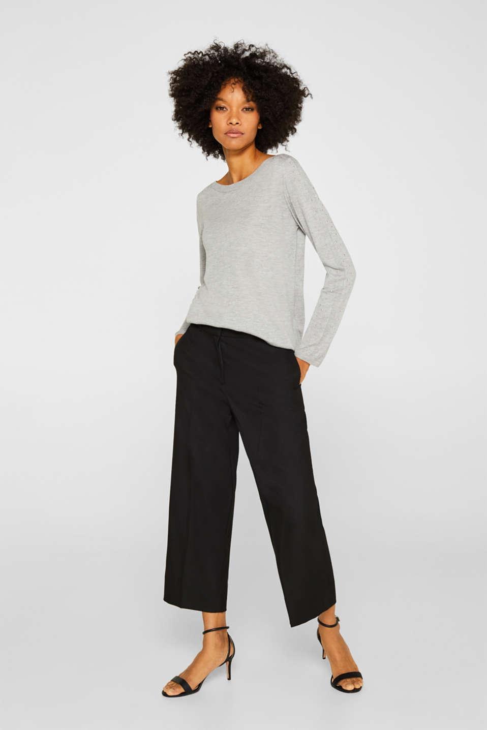 Sweaters, MEDIUM GREY 5, detail image number 1