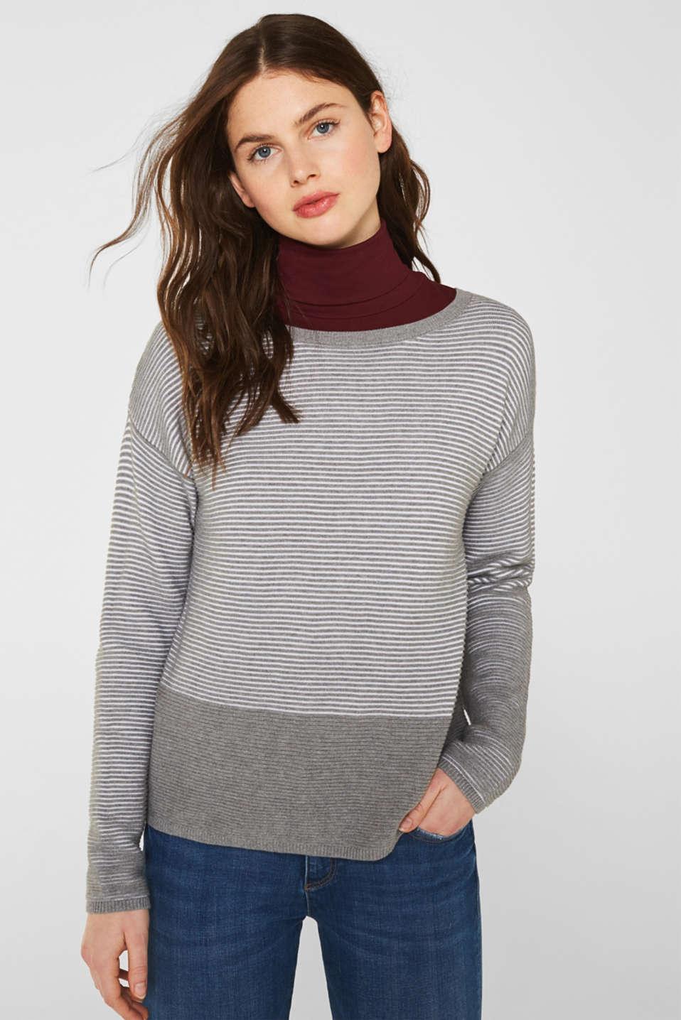 Sweaters, MEDIUM GREY 2, detail image number 0