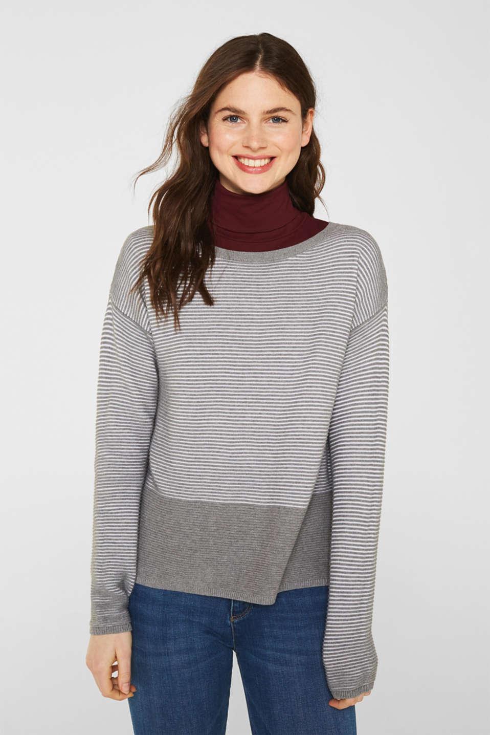 Sweaters, MEDIUM GREY 2, detail image number 6