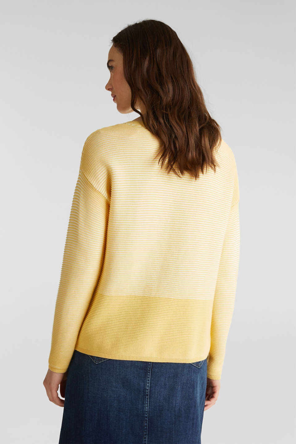 Sweaters, DUSTY YELLOW 2, detail image number 3