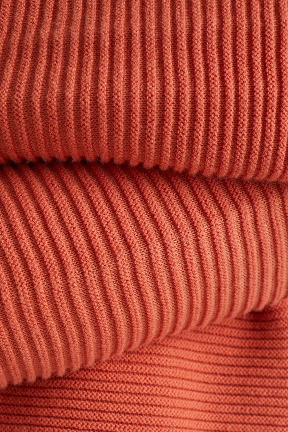 Sweaters, BURNT ORANGE 2, detail image number 4
