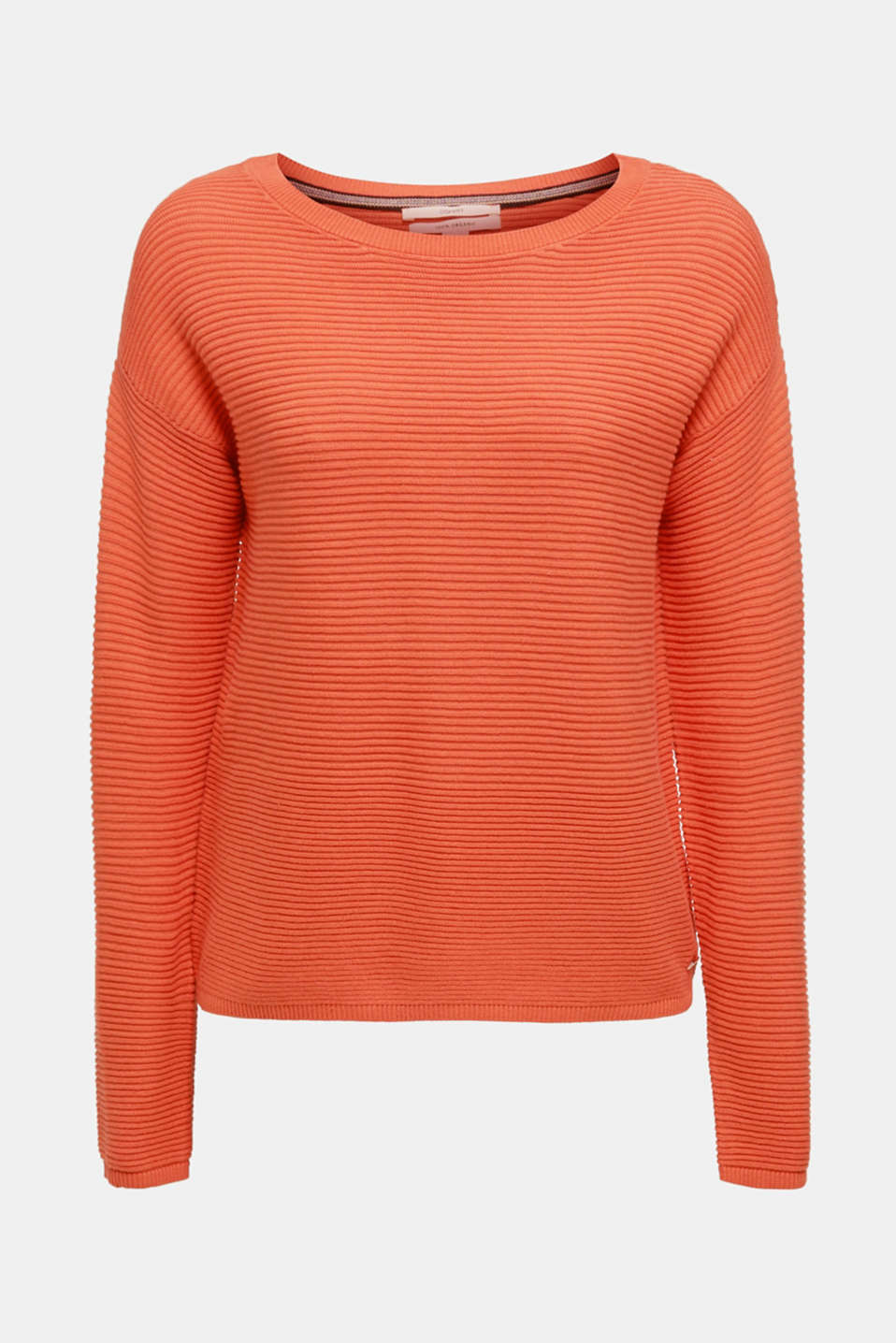 Sweaters, BURNT ORANGE 2, detail image number 7