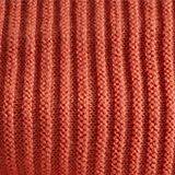 Ribbed-Jumper made of 100% cotton, BURNT ORANGE 2, swatch