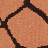 Double-faced jumper with a jacquard pattern, BURNT ORANGE, swatch
