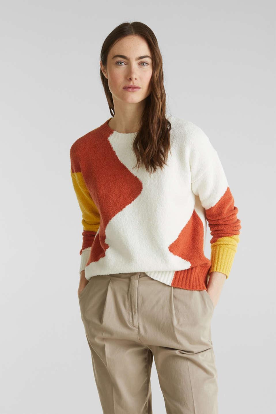 Sweaters, BURNT ORANGE, detail image number 0