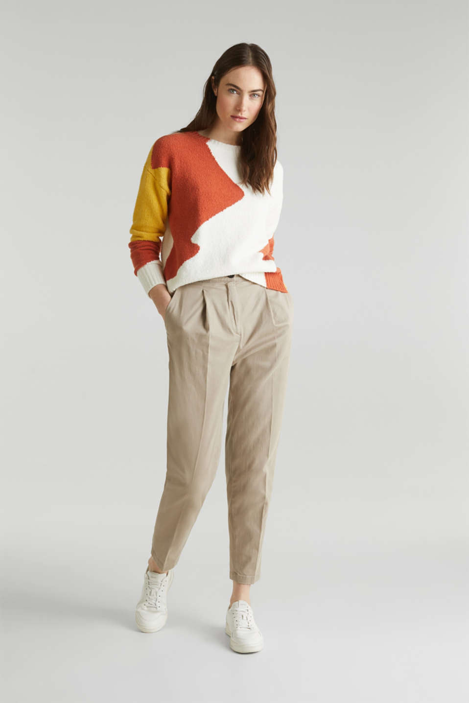 Sweaters, BURNT ORANGE, detail image number 1